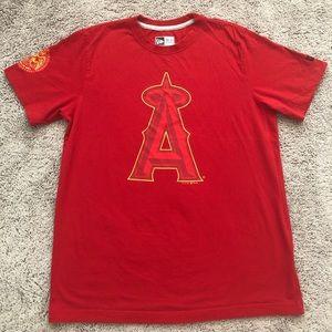 Anaheim Angels baseball Tee size -M